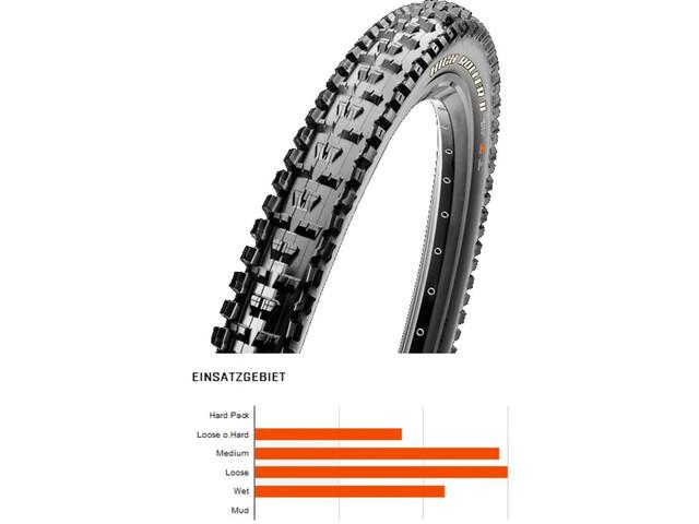 """Maxxis High Roller II Folding Tyre 27.5"""" MaxxPro SilkShield E-Bike MTB"""